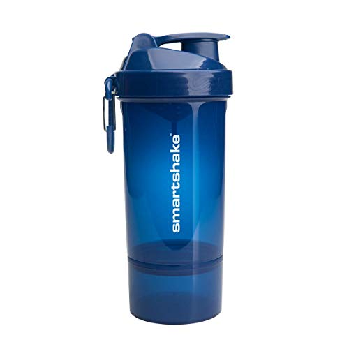 Smartshake Original 2GO One, 27 oz Shaker Cup, Navy Blue (Packaging May Vary) For Sale