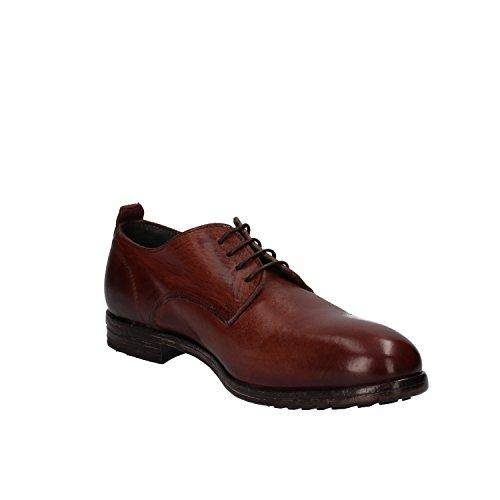 MOMA - Zapatos de cordones de Piel para mujer marrón marrón
