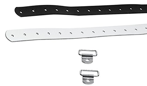 Color Guard Rifle Strap Kit By DSI (Includes O-Rings and Clips) (Black)