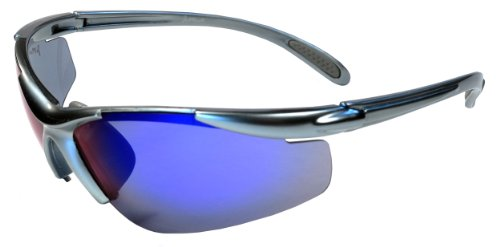 JiMarti JM01 Sunglasses for Golf, Fishing, Cycling-Unbreakable-TR90 (Grey & Blue)