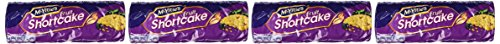 Mcvities Fruit Shortcake 200g 4 Pack (English Fruit)