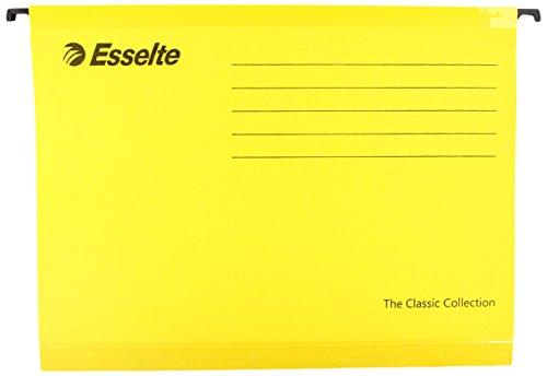 Files Suspension Esselte - Esselte Pendaflex A4 Suspension Files - Yellow (Pack of 25)