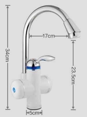 3000w Sofortiger Heisser Wasser Hahn Sofortiger Wasser Heizung Hahn