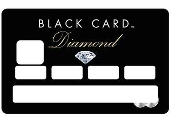 Carte Black Cmb.Stickers Cb Carte Bleue Black Card Pour Carte Bancaire Amazon Fr