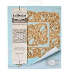 - Spellbinders Designer Series Dies, Flourishing Fleur