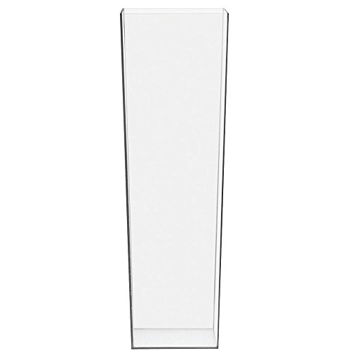 "Cal-Mil 879-16 Square Accent Display, 5"" Width x 5"" Diameter x 16"" Height, Clear"