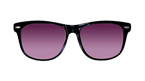 sol Sunglasses protección Black Skyfield de con patillas Gafas Purple hombre madera Classic del de polarizadas rayos de UV y 100 y mujer de Shine 0qUxrwdU
