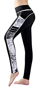 Sugar Pocket Women's Workout Leggings Running Tights Yoga Pants