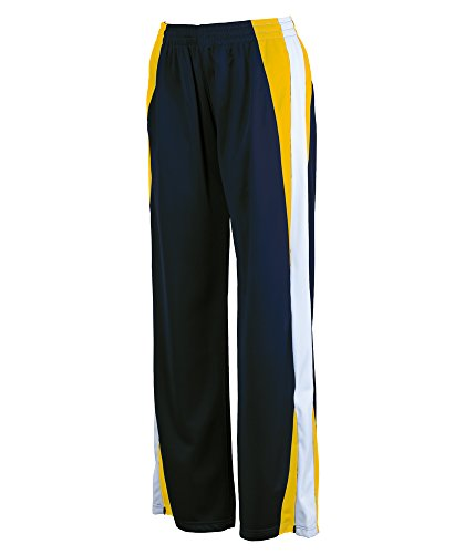 Charles River Women's Energy Pant Navy / Gold / White M (Gold Pant River)