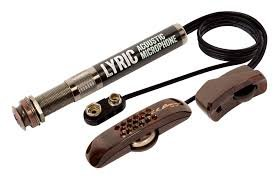 Lr Baggs Lyric Acoustic Guitar Microphone For steel string Guitar+ 1 set of EJ-16 Strings VWWS USA