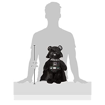 Build-a-Bear Workshop 17 in. Darth Vader Star Wars Bear: Toys & Games