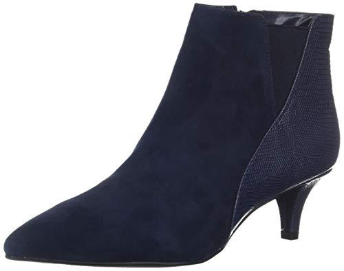 Bandolino Women's WISHSTAR Ankle Boot, Navy, 7.5 M ()