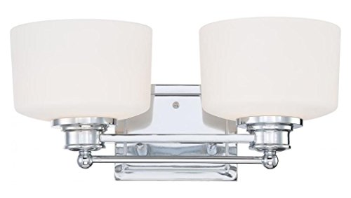 Soho Light (Soho - 2 Light Vanity Fixture W/ Satin White)