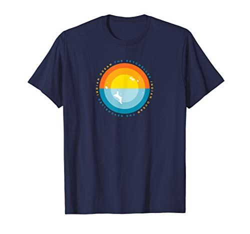 Seychelles Sunset Graphic T Shirt ()