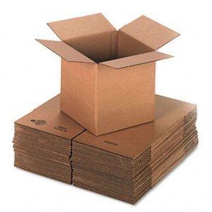 Single Wall Brown Boxes 15 cajas de cartón para envíos de una sola pared, color