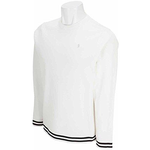 セント?アンドリュース St ANDREWS 中間着(セーター、トレーナー) 総針裾ラインプルオーバー セーター