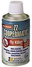 ZELNOVA - Copermatic Recambio Insecticida Fly Killer Coopermatic Zelnova 250 Ml - Pack 4 unidades