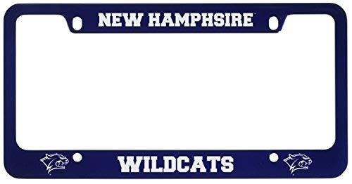 (University of New Hampshire -Metal License Plate Frame-Blue)