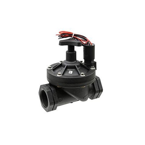 Galcon 3652 Sprinkler Valve with S1602 DC Latching Solenoid for Battery Operated Controllers, 1.5