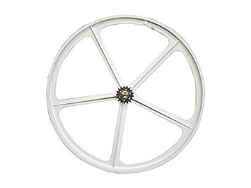Pepita Bikes - Llanta aspa / rueda palos blanca (trasera): Amazon.es: Deportes y aire libre