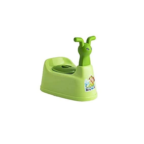 La Corsa Plastic Scooter Style Baby Potty Seat with Removable Tray, Multicolour