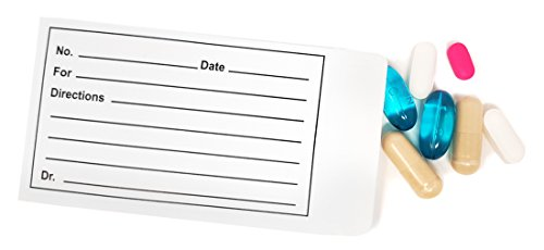 Printed Pill Envelope - Pack of 100