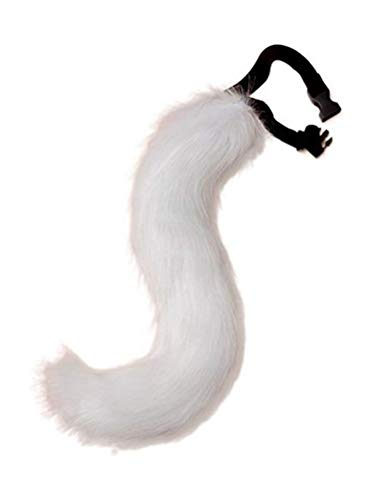 (ANBI Faux Fur Tail and Ear for Adult/Teen Cosplay Halloween Party Costume)