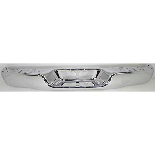 Steel Rear Bumper Shell Face Bar for 2007-2013 Toyota Tundra Pickup 07-13 Chrome TO1102245 MBI AUTO