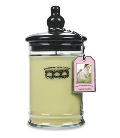 Bridgewater Candles 18.5 oz Jar Candle, Spring Dress (Long Peony Dress)