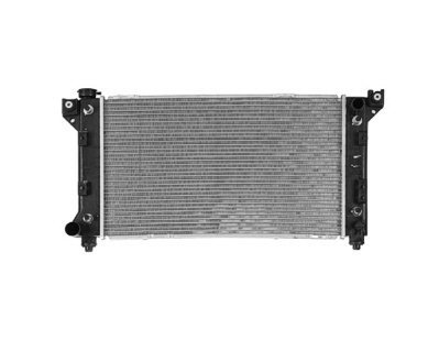 MAPM Premium Quality RADIATOR; WITH ENGINE OIL COOLER; LH OUTLET by Make Auto Parts Manufacturing