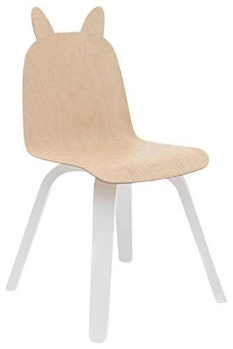 Oeuf Play Chairs In Birch, Rabbit by Oeuf