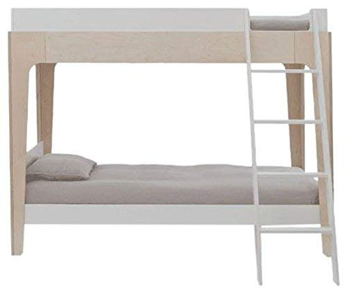 Oeuf Perch Bunk Bed in White/Birch
