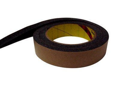 3M(TM) Urethane Foam Tape 4317 Charcoal Gray, 3/4 in x 9 yd, 12 per case ()
