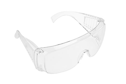 SE SG111 Safety Glasses with Anti-Scratch Coating & Temple Vents - Goggles Plastic