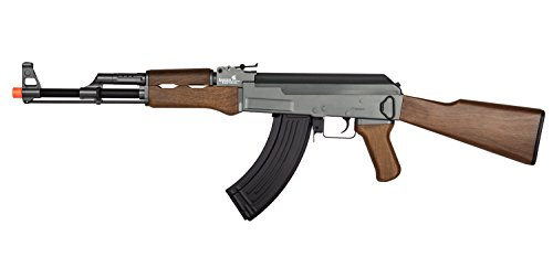 - UKARMS Lancer Tactical LT-728 AEG AK-47 Electric Airsoft Gun Rifle