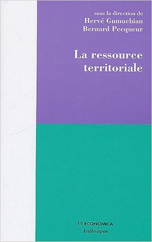 Lire un La ressource territoriale epub, pdf