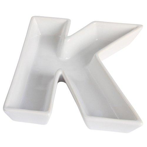 Ivy Lane Design Ceramic Greek Alphabet Dish, -