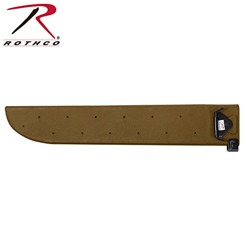 Sheath Plastic (Rothco Gi Type Plastic Machete Sheath, Coyote)
