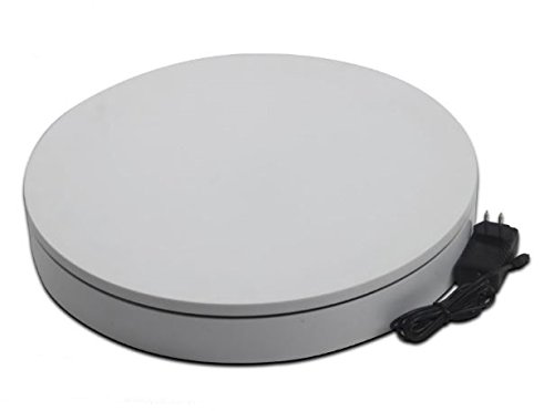 BKL NA4006W [撮影用ターンテーブル 白] 電動ターンテーブル ネットショップなど撮影用 30kg   B076DKCL1L