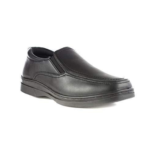 9ab5b9b262dc Hobos - Mens Side Twin Gusset Shoe in Black - Buy Online in Oman ...
