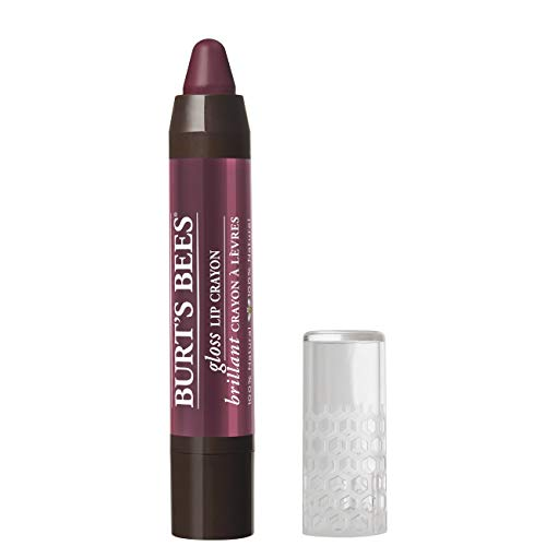 Burts Bees 100% Natural Gloss Lip Crayon, Bordeaux Vines, 2.83g