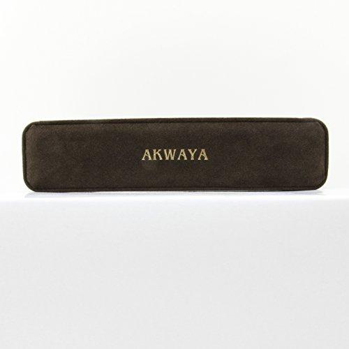 akwaya Bracelet Femme-3rangs Rose Grade A 6,5-7,5mm, 7,5