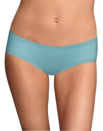 Maidenform Women's Comfort Devotion Hipster Panty, Amazing Aqua, 6