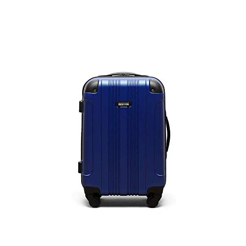 """Kenneth Cole Reaction Out Of Bounds 20"""" Hardside 4-Wheel Spinner Carry-on Luggage, Cobalt Blue"""
