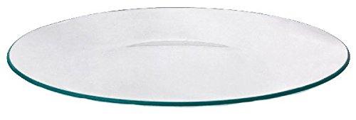 Glasteller rund flach Ø 20 cm klar