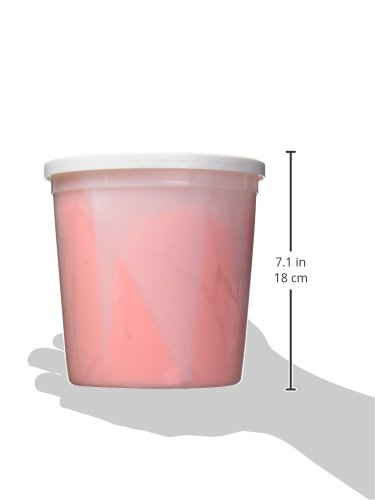 Sammons Preston Silk Putty, Orange-Pink, Medium-Firm, 5 lbs, Occupational & Physical Therapy, Therapeutic Exercises, Flexible & Smooth Putty for Hand Strengthening, Arthritis, & Postoperative Recovery by Sammons Preston (Image #3)