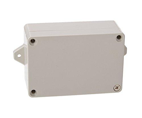 SamIdea(TM) 83mm x 58mm x 33mm Waterproof Plastic Sealed Electrical Junction Box