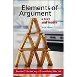 Elements of Argument, Annette T. Rottenberg, 0312049102