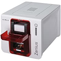 EVOLIS, ZENIUS CLASSIC PRINTER, SINGLE SIDED, WITHOUT OPTION, USB, RED TRIM, USB