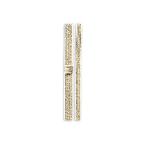 Levenger Precious Metals Notebook Belts, Gold (ADS9075 GL...